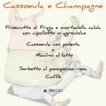 Cassoeula e Champagne